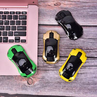 Car Shape Wireless Mouse USB Scroll Mice Computer Professional For PC Laptop  SE