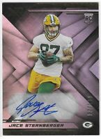 2019 PANINI Xr JACE STERNBERGER AUTO RC #165 GREEN BAY PACKERS 127/199