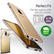 Cover Samsung Galaxy A8 (2018)  [Ultra-Slim] TPU Silicone Trasparente GEL