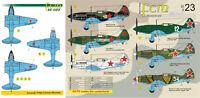 FCM Décalques 1/32 Mikoyan MiG-3 #32023