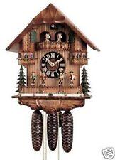 RARE Hones 8671T Moving Band 8 Day Musical Chalet Cuckoo Clock