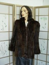 SCRAP SQUIRREL FUR COAT FOR WOMEN ON SALE AS IS