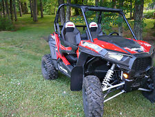 Polaris RZR-S  1000  Mud Flaps / Mud Guards / Fender Flair Extenders