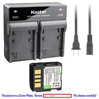 Kastar Battery Rapid Charger for JVC BN-VF707 & JVC GR-D250U GR-D250US GR-D248US