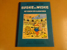 STRIP SUSKE EN WISKE BLAUWE REEKS LUXE GEKARTONNEERD /HET GEHEIM DER GLADIATOREN