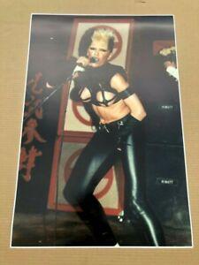 #1 Rare HUGE 20X30 PLASMATICS Punk Rock Concert Wendy O Williams Photo Poster