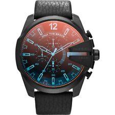 Diesel DZ4323 Mens Mega Chief Black Chronograph Watch 51mm