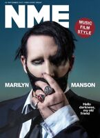 NME Magazine September 2017 Marilyn Manson Photo Cover Interview