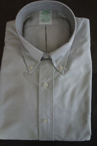 NWOT Brooks Brothers Gray Oxford Button Down Milano Fit Several Sizes MSRP $140