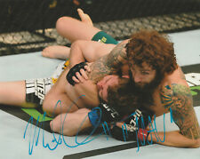 20ebe2e6e79 MICHAEL CHIESA SIGNED AUTO D 8X10 PHOTO UFC 173 157 232 FIGHT NIGHT  MAVERICK D