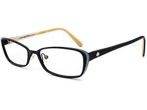 Kate Spade Women's Eyeglasses LIDIA 0W44 Black Full Rim Frame 52[]16 135