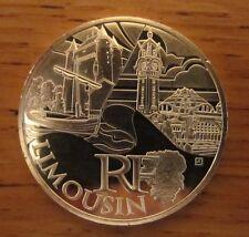 """PIECE 10 EUROS DES REGIONS  2011 MONUMENTS, """"LIMOUSIN"""", ETAT NEUF"""