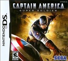 CAPTAIN AMERICA SUPER SOLDIER * NINTENDO DS * BRAND NEW FACTORY SEALED!