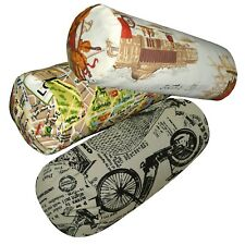 Bolster Cover*A-Grade Cotton Canvas Neck Roll Tube Yoga Massage Pillow Case*LL2