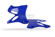 Yamaha Radiator Scoops Rad Shrouds YZ 125 / 250 2002 - 2014 OEM Blue POLISPORT