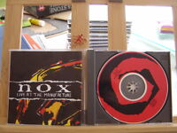 NOX LIVE AT THE MANUFACTURE CD NUMBERED 542/1000 WITH BOOKLET POSTER