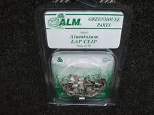 50 X ALM GREENHOUSE ALUMINUM LAP CLIPS GH002