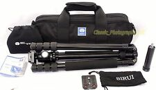 Sirui T-1004x PROFESSIONAL Tripod ** Complete Set in a Carry Bag ** 99% MINT!!