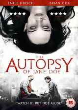 THE AUTOPSY OF JANE DOE  (DVD) (New)