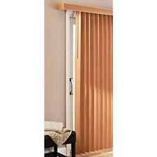 Vertical Blinds New Patio Door Large Window Privacy Durable PVC, Printed Oak