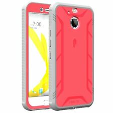 HTC Bolt POETIC [Revolution] Premium Rugged Shockproof Protection TPU Case Pink