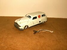 Vintage tin toy / jouet tôle - INGAP made in Italy - wind up AMBULANCE - 50's