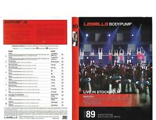 Les Mills Body Pump 89 Complete with DVD,  CD, Case and Notes