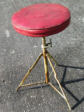Vintage '50s Slingerland Radio King Usa Unmarked Drum Drummer'S Throne Stool!