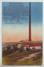 Halsbrücke Freiberg Höchste Esse  1916  Feldpost