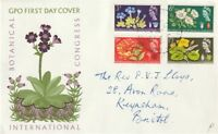 5 AUG 1964 BOTANICAL CONGRESS PHOSPHOR GPO COVER BEST CANCEL BUT NOT FIRST DAY