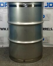 55 Gal 301 New Stainless Closed Head Maple Syrup Barrel Crevice Free 15mm