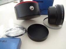 Panasonic wide conversion lens VW-LW2E + VW-SUR1E STEPUP RING FOR MOVIE CAMERA
