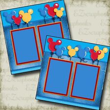 Magical Balloons - Disney - Premade Scrapbook Pages - EZ Layout 2955