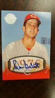 2004 Don Gullett Auto  SP #116 UD Timeless Teams   Short Print  !