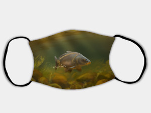 Mirror Carp Adjustable Face Mask with 2 x PM2.5 Filters