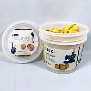 Bolt Balls SKLZ Soft Micro Training Balls - Bucket of Balls / (50+ yellow balls)