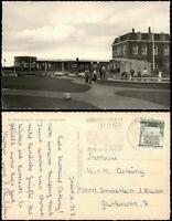 Ansichtskarte Juist Bahnhof und Vorplatz 1968