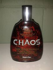 Supre Tattoo Chaos 100X Black Sizzle Bronzer Tingle Tanning Lotion Supre 13.5 oz