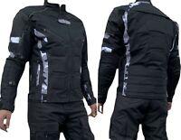 Motorradjacke - Jacke herausnehmbare Protektoren - Textil Motorrad Jacke Quad