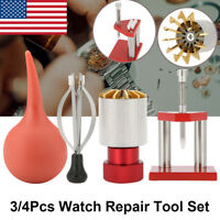 Watch Crystal & Hand Tool Kit - Crystal Remover / Fitter + Hand Puller & Fitter