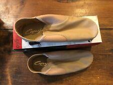 NEW Capezio Jazz Shoes Adult size 11.5 m EJ2A Caramel split sole