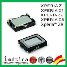 ALTAVOZ BUZZER SONY XPERIA Z L36H Z1 L39H C6902 Z2 L50W D6502 Z3 D6603 ZR M36i
