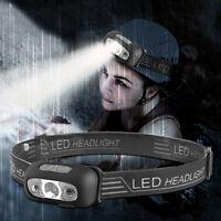USB Rechargeable LED Headlamp Headlight Head Lamp Torch Flashlight Waterproof L