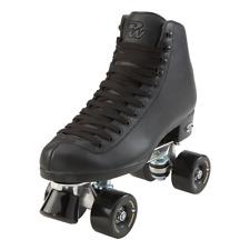 Riedell Wave roller skate quad unisex size 3 black
