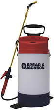 Spear and Jackson 5LPAPSWOOD Pressure Sprayer for Wood Stain, 5 Liters, White