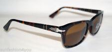 Gafas de sol de hombre ovaladas marrón Persol