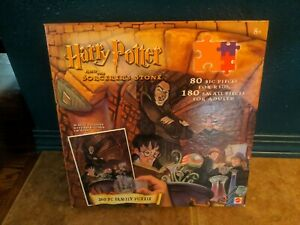 Harry Potter and The Sorcerers Stone: 260 PC Family Puzzle w/Magic Decoder NEW!
