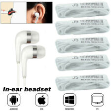 5 x Universal Earbuds Earphone With Mic Cheap Earphones For Cellphone PC Tablet