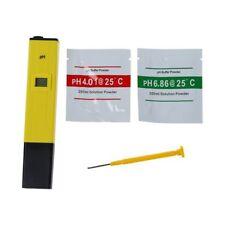 Probador Medidor de pH digital Monitor LCD de agua Tipo de pluma de acuario L4F7