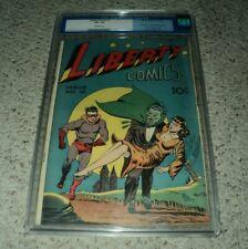 Liberty Comics #10 Green Publishing Comic 1945  4.5 CGC